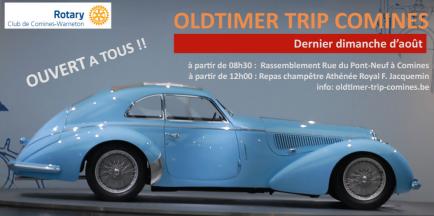 16e Oldtimer Trip Comines - trois événements en un.